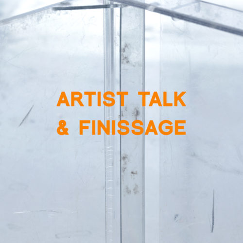 Artist talk & finissage!